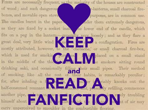 Detox Fanfiction by Keep Calm And Fan Fiction Logo Keep Calm And Read A