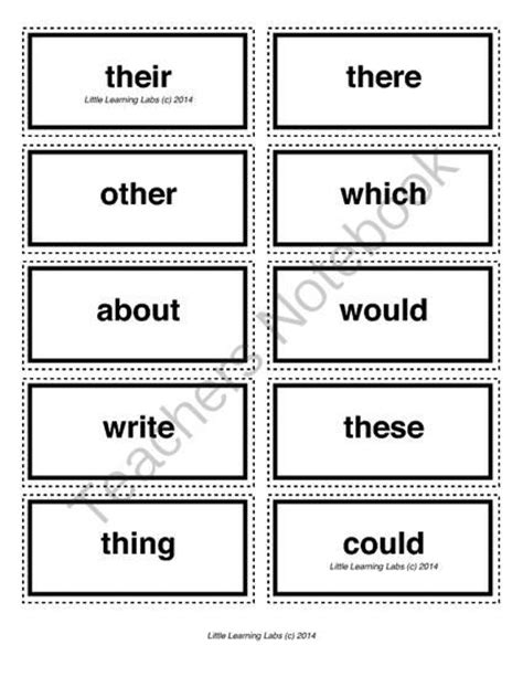 5 Letter Words From Simply 5 letter vocabulary spelling sight words cards for prek