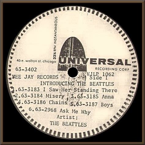 the source acetates other vj introducing the beatles