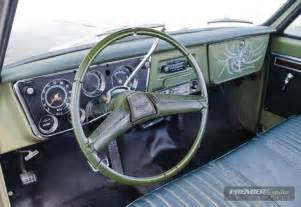 1970 Chevy C10 Interior by 1970 Chevrolet C10 Patina Green Exterior Green