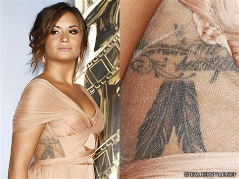 demi lovatos tattoos demi lovato s tattoos meanings style
