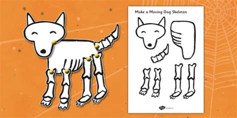 home design story dog bone make a moving dog skeleton cutting activity a4 to support