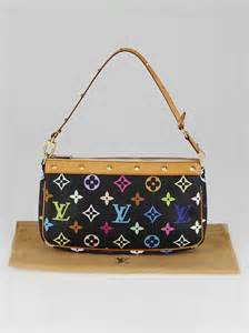 louis vuitton black monogram multicolore accessories
