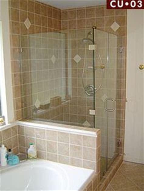 Frameless Shower Doors San Antonio Door With Inline Notched Panel And 90 Degree Return Panel A Tub Deck Door Is Hinged Of