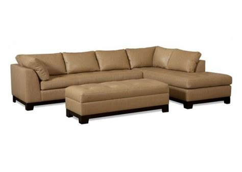Elite Leather Sectional by Elite Century City Leather Sectional