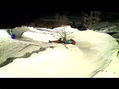 backyard luge vermont backyard luge track skeleton run doovi