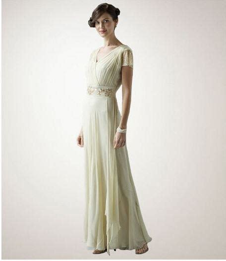 Vintage Style Wedding Dresses by Vintage V Neck Wedding Dress Stylewedwebtalks Wedwebtalks