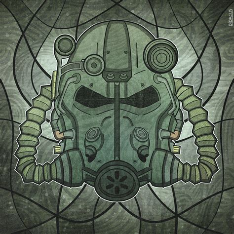 fallout power armor helmet by didacus518 on deviantart
