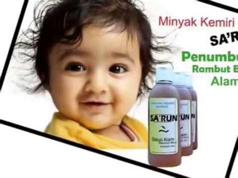 Minyak Kemiri Sa Run penumbuh rambut bayi alami cepat minyak kemiri sa run