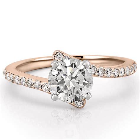 unique engagement rings unique wedding rings diamonds women s unique pave diamond engagement ring patronus