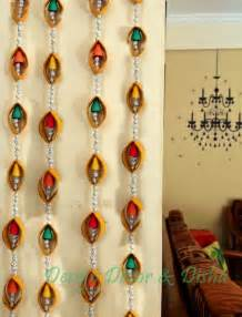 Handmade Wall Hangings Ideas - diwali craft idea wall hanging