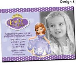 sofia the invitation template princess sofia birthday invitations ideas bagvania free