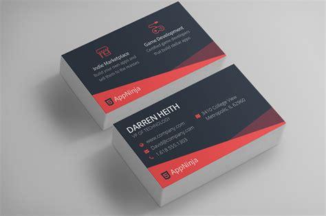 Sleek Business Card Templates by Sleek Business Card Template Business Card Templates On