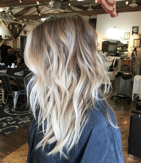 balavage haircolor for medium length blonde hair 45 balayage hairstyles 2018 balayage hair color ideas
