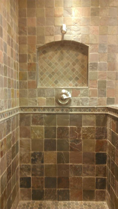 bathroom travertine tile design ideas shower niche tile ideas