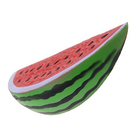 Jumbo Melon Squishy By Punimaru jumbo water melon slice rising squishy 163 6 99 buy at something kawaii uk