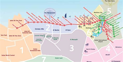 dubai uae map dubai metro map metro map of dubai united arab emirates