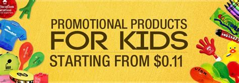 Promotional Giveaways For Kids - promotional products for kids children promotional products for schools