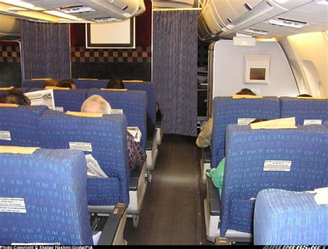 A310 Cabin by Airbus A310 325 Et Pakistan International Airlines Pia
