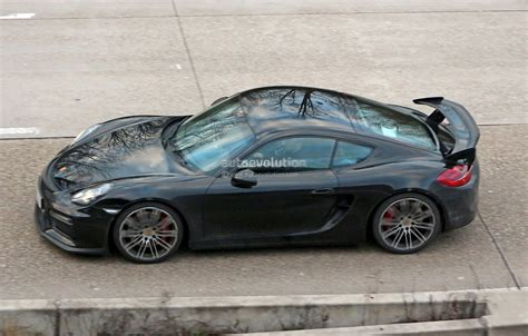 porsche cayman 2015 gt4 2015 porsche cayman gt4 completely revealed in latest spy