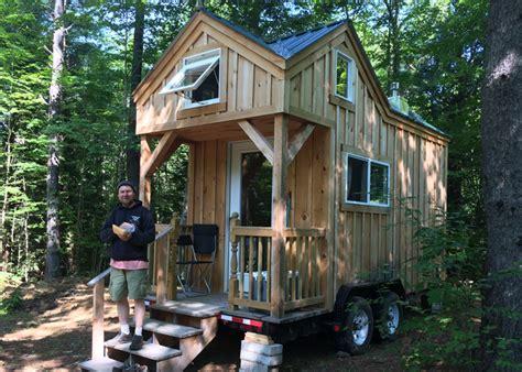 8x16 cross gable tiny house on a trailer 8x16 cross gable tiny house on a trailer