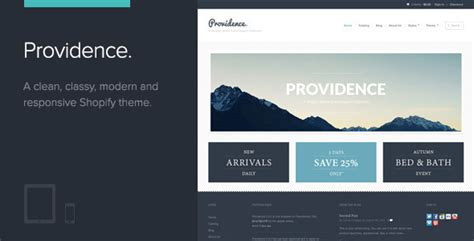 providence theme shopify free download bootstrap themes skins components top