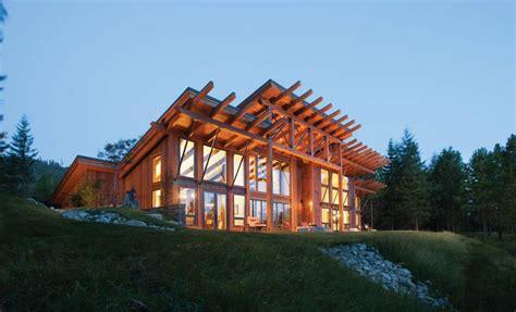 suncadia washington timber home precisioncraft log