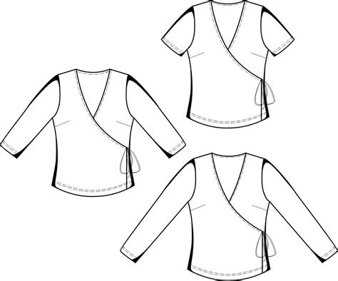 blouse sewing pattern 8004 made to measure sewing top sewing pattern 5644 made to measure sewing pattern