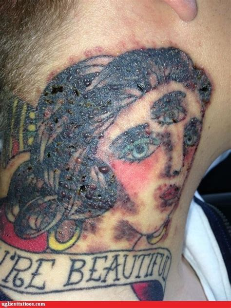 tattoo freckles gone wrong 18 tattoos that are full of regret pleated jeans