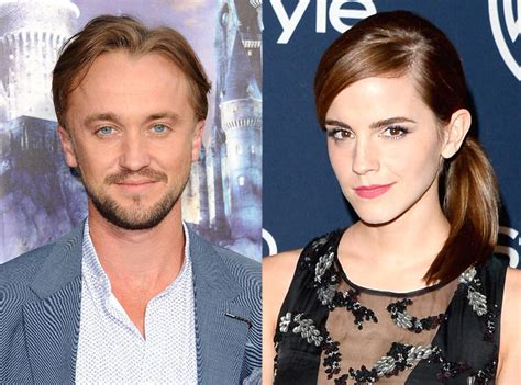 emma watson et tom felton film did harry potter s tom felton have a crush on emma watson