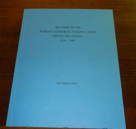 records of the worley luginbuel funeral home 1936 1997