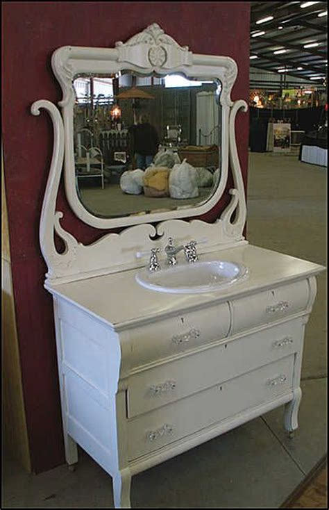 waschbecken shabby chic bathroom vanity from dresser images of antique