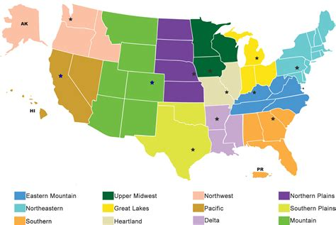us agricultural regions map usda national agricultural statistics service regional