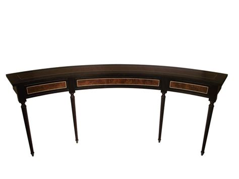 curved sofa table  clive christian collection