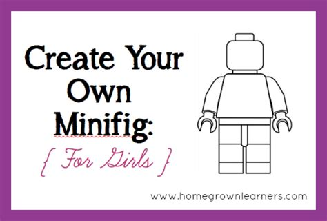 how to create your own template create your own lego minifigures printables for boys