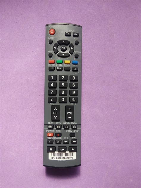 Tv Panasonic Viera 6 Warna Remote For Panasonic Tv Viera Eur7651030a Eur765109a Eur765101c Eur7628 In Remote