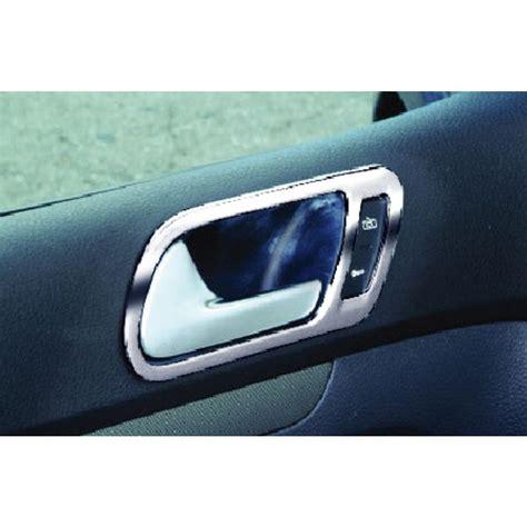 tuning interno auto cromature maniglie interne fluss volkswagen golf v