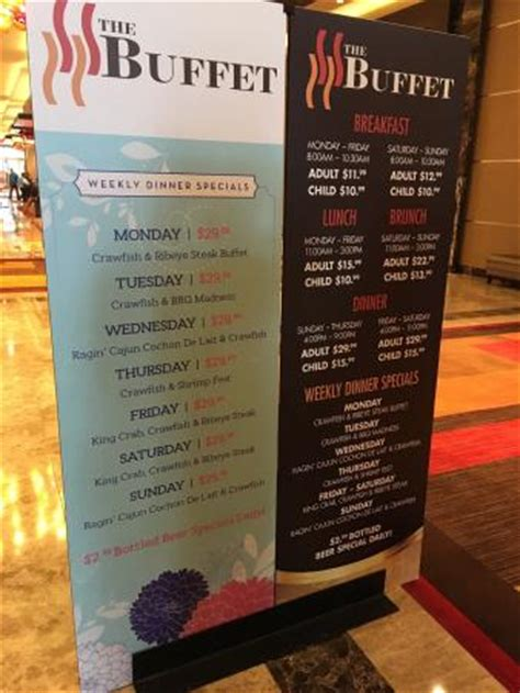 the buffet at price prices at golden nugget buffet posted picture of the