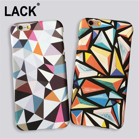 Geometric Softcase Iphone 5 5s 6 6s 6 6s 7 7 8 8 Plus aliexpress buy abstract triangle for iphone 5s fashion geometric graphic pattern