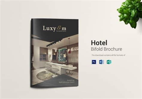 Hotel Brochure Design Templates by 13 Hotel Brochures Sle Templates
