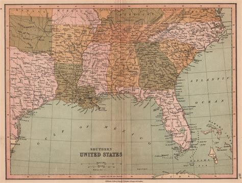 indian territory map united states southern united states oklahoma shown as indian territory