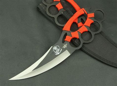 with blade chakra blade knuckle guard knife for sale all gear