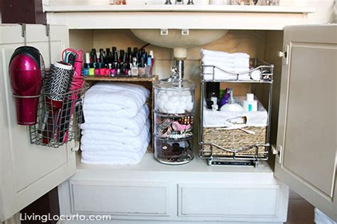 organizing ideas for bathrooms 20 home organization ideas makeovers for house