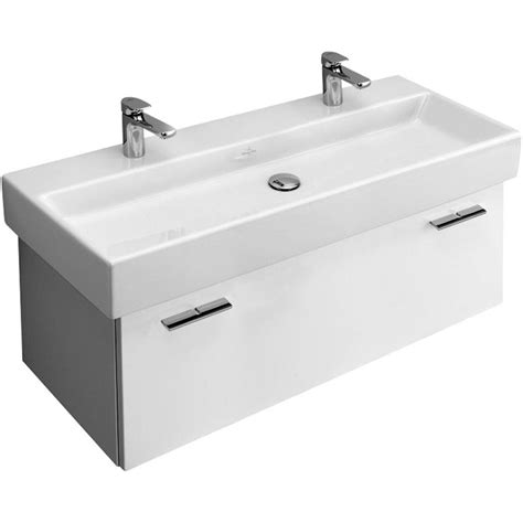 villeroy and boch bathroom vanity villeroy boch central line double width vanity unit a