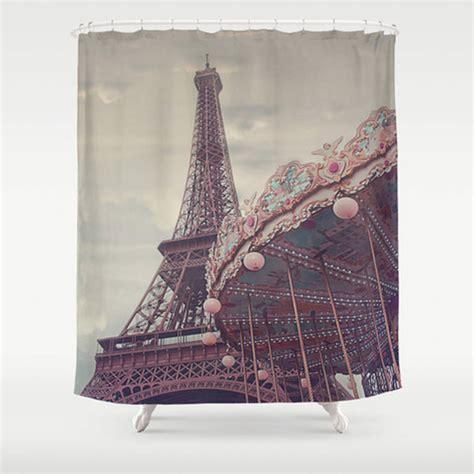 paris shower curtain paris shower curtain by ruby and b notonthehighstreet com