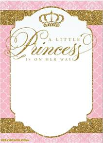 princess themed baby shower ideas baby shower for parents - Free Printable Princess Baby Shower Invitations