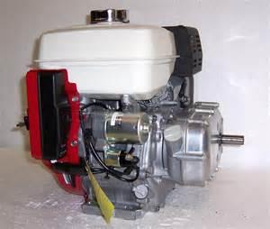 Honda Gx 270 Honda Horizontal Engine 8 5 Net Hp 270cc Es Ohv 2 1