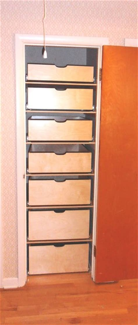 Pull Out Drawers For Closet by Pull Out Drawers For Closets Roselawnlutheran