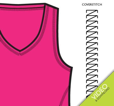 sewing pattern adobe illustrator create a coverstitch pattern brush in illustrator
