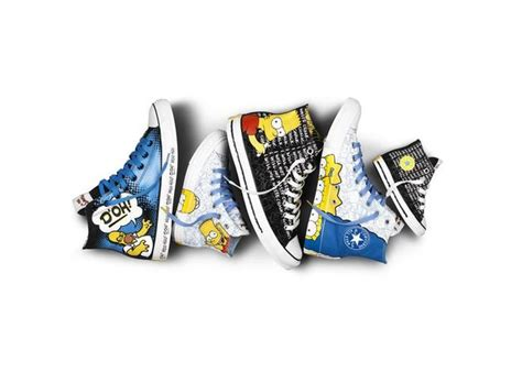 Harga Converse X The Simpsons converse x the simpsons sneakers